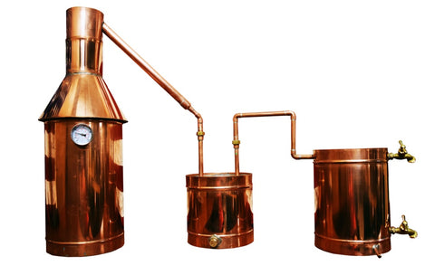 The 6 Gallon Copper Moonshine Still