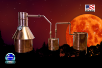 Start making moonshine with your 2 Gallon Pot still today