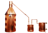 15 Gallon Copper Still Complete: Make moonshine mash, liquor, whiskey and more