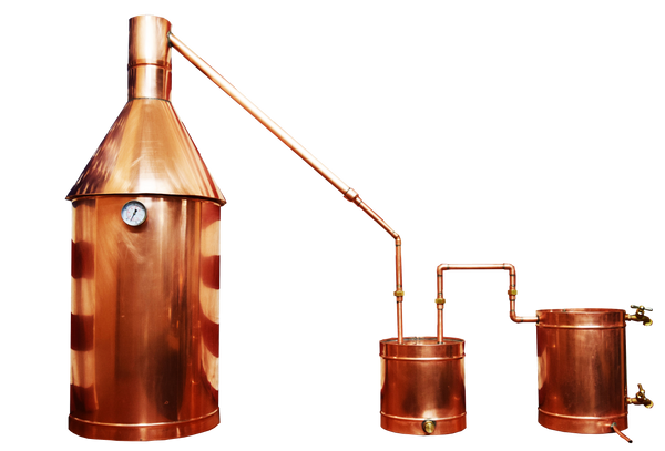 15 Gallon Copper Moonshine Still - Complete