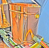 Affordable No Thumper Design - Complete Copper Moonshine Still