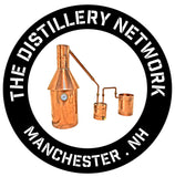 Logo for moonshine stills parent: the distillery network inc