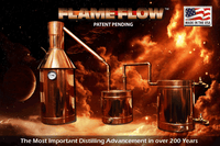 Amazing FlameFlow™ Technology Copper Moonshine Still | The Distillery Network Inc.