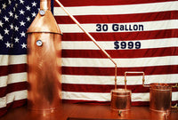 The 30 Gallon Electric Moonshine Still for sale