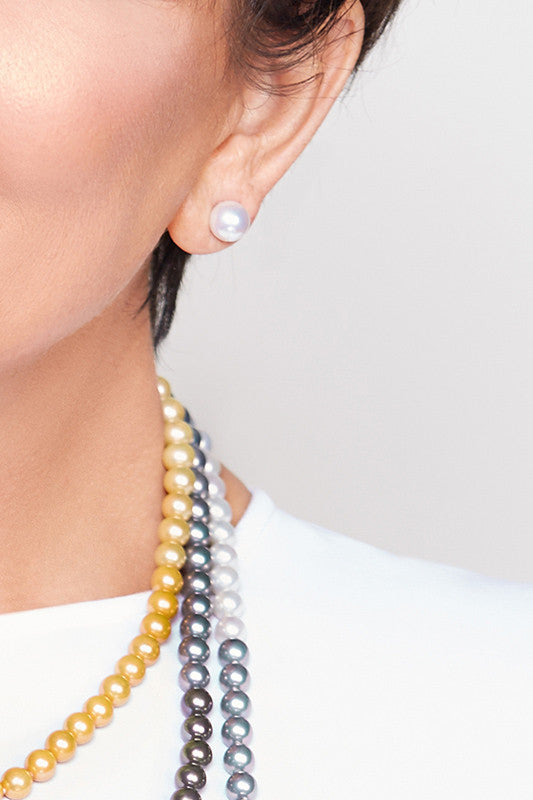Kris Jenner Signature Collection Majorca Pearls + Free Earrings