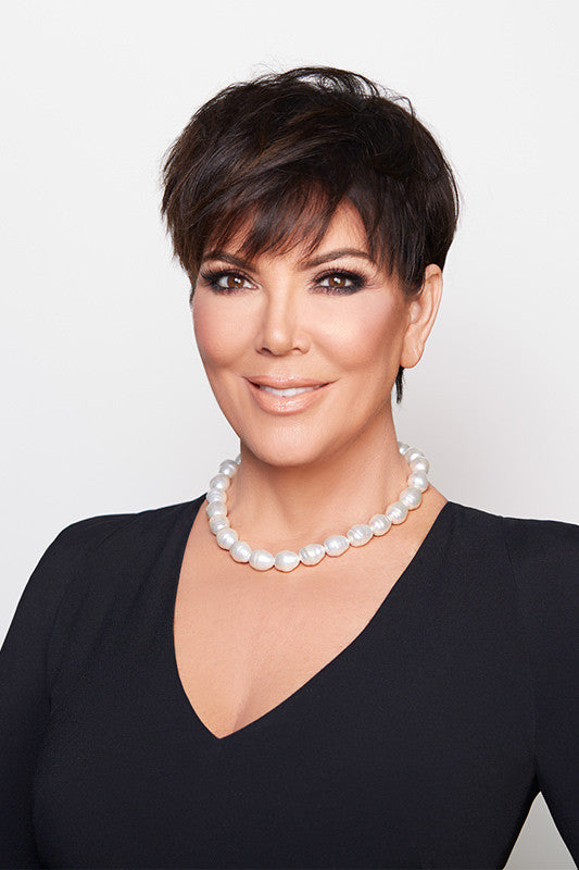 Kris Jenner Signature Collection White Barrel Baroque Necklace