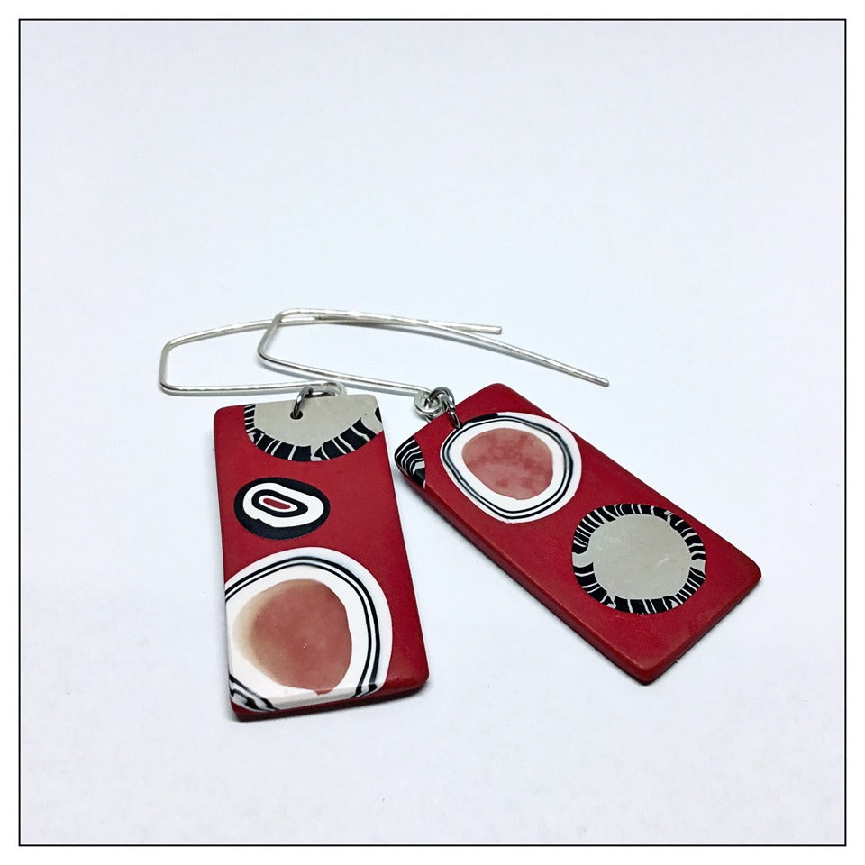 Polymer on Silver ~ colour & cane creations - Oct 20