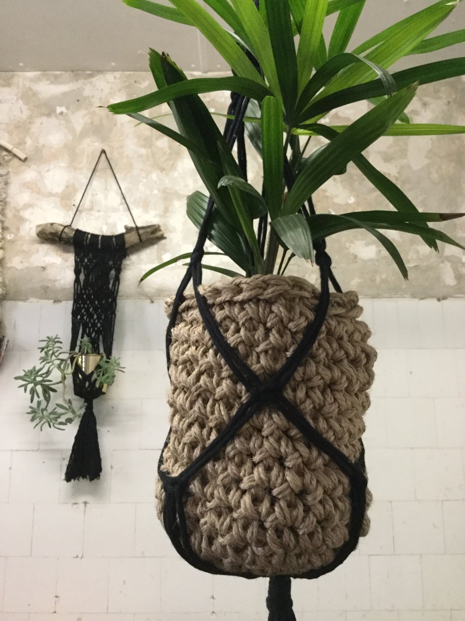 Macrame Wall Hanging & Plant Hanger - May 20