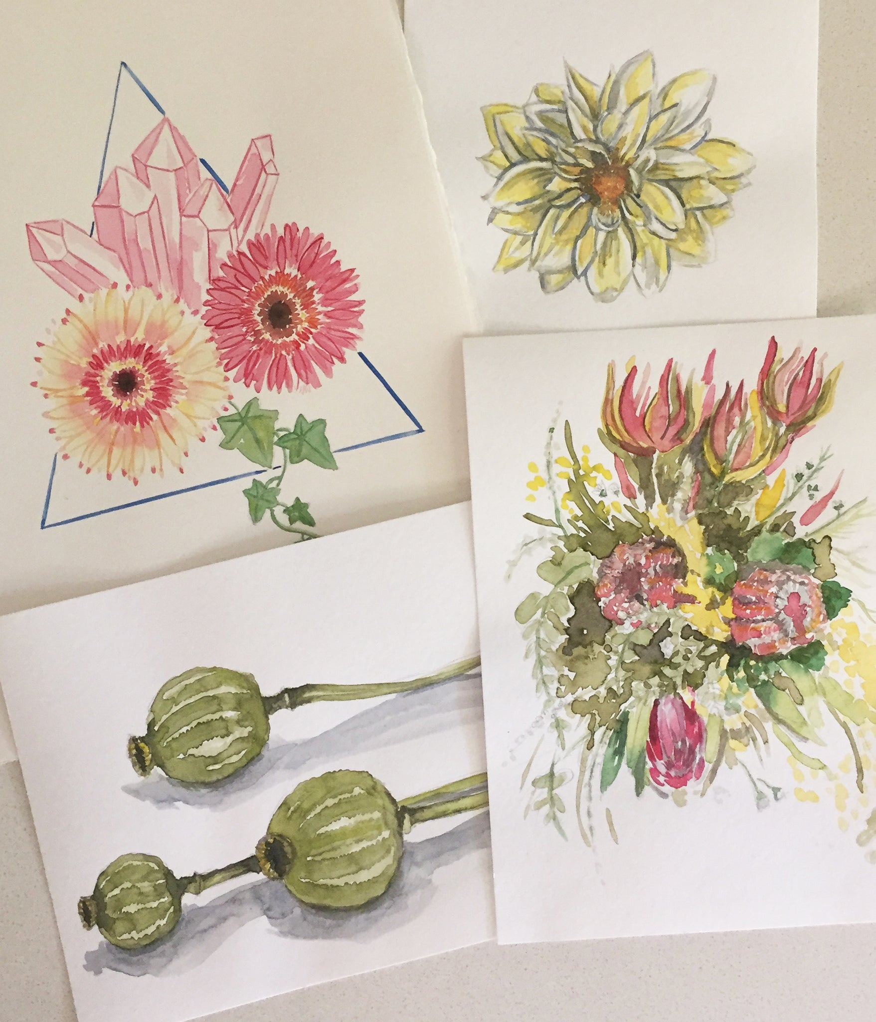 Floral Watercolours - September 22