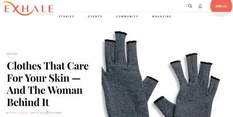 Clothes That Care For Your Skin — And The Woman Behind It