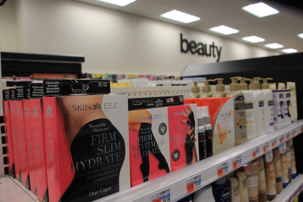 Now Available to Shop SKINEEZ in the Beauty and Skincare Aisles Nationwide