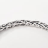 925 HANDMADE STERLING SILVER ROPE LINK CHAIN MEN'S BRACELET 5.50MM.