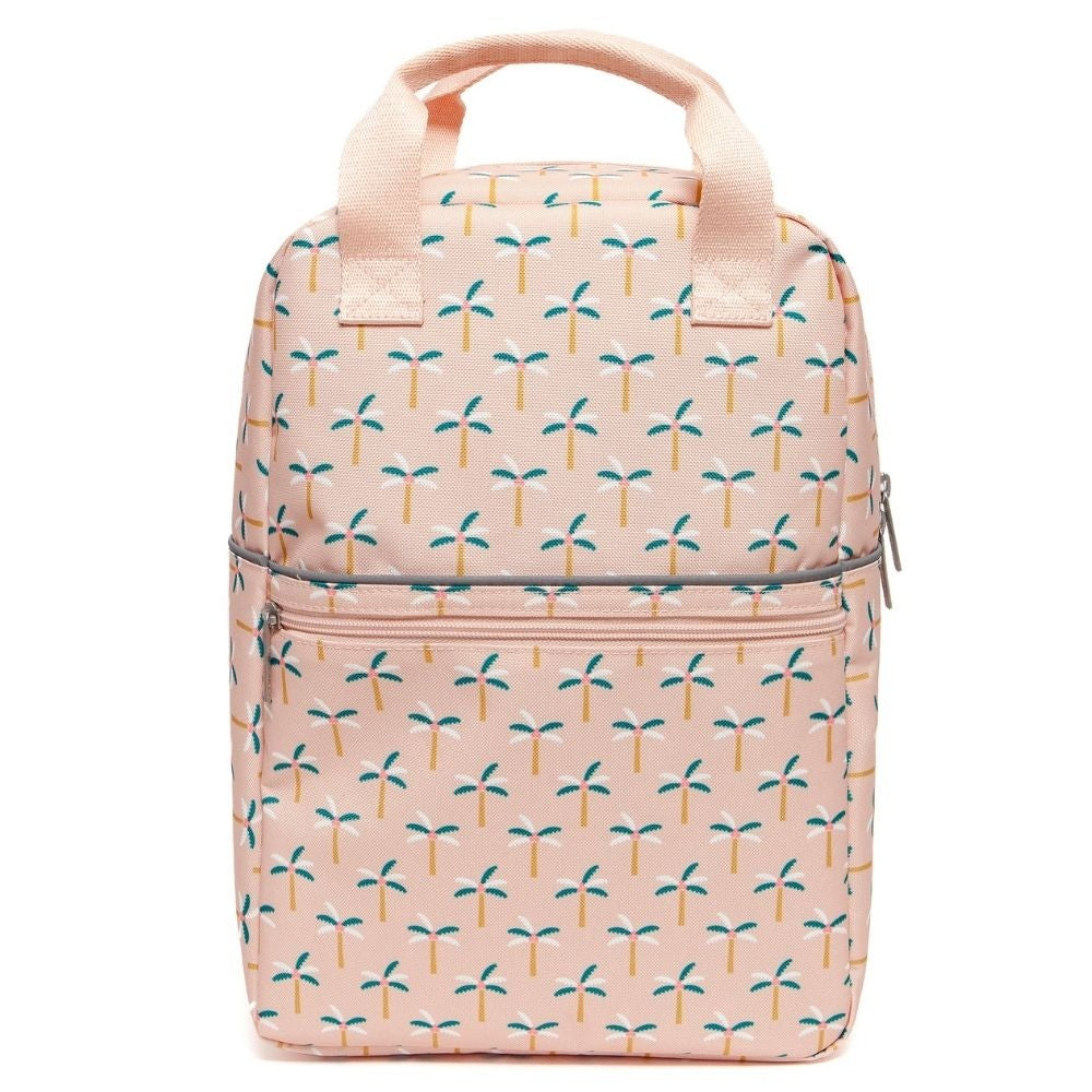PETIT MONKEY- PALM TREES BACKPACK