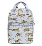 PETIT MONKEY- GREY TIGERS BACKPACK