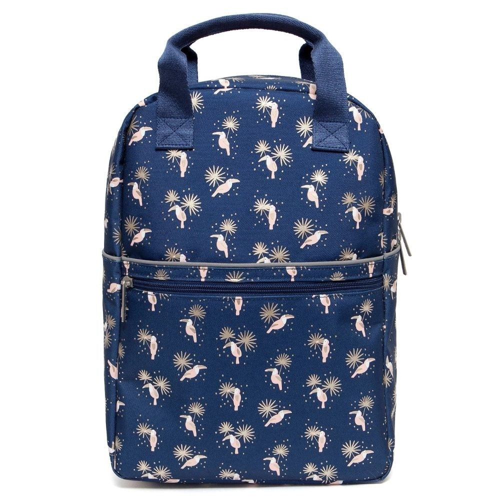 PETIT MONKEY- TOUCANS BACKPACK