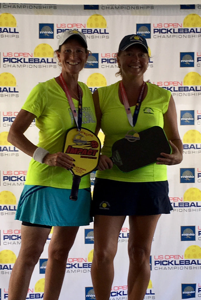 Silver US Open Championships Women's Doubles 50-54