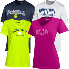 "Men's & Women's Apparel featured at ""The US Open Championships""."
