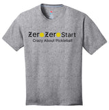 Zero Zero Start Hanes® Men's S/S Crew Neck (Click for more colors)