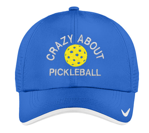 e1dc599aeaab9 NIKE Royal Dri-FIT Performance Vented Cap – Pickleball Crazy