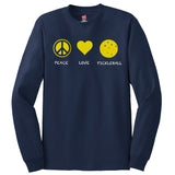 Peace Love Pickleball Hanes® Tagless® Long Sleeve
