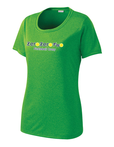 St. Patrick's Sport-Tek® Ladies Heather Contender™ Scoop Neck Tee