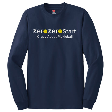 Zero Zero Start Hanes® Tagless® Long Sleeve