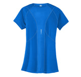 OGIO® ENDURANCE Ladies Nexus V-Neck Blue