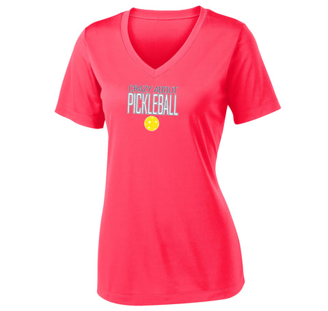 Women's Sport-Tek V-neck Shirt