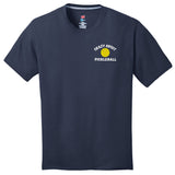 Crazy About PickleBall Hanes® Men's S/S Crew Neck (Click for more colors)