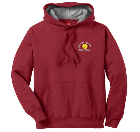 Red Hanes® Nano Pullover Hooded Sweatshirt