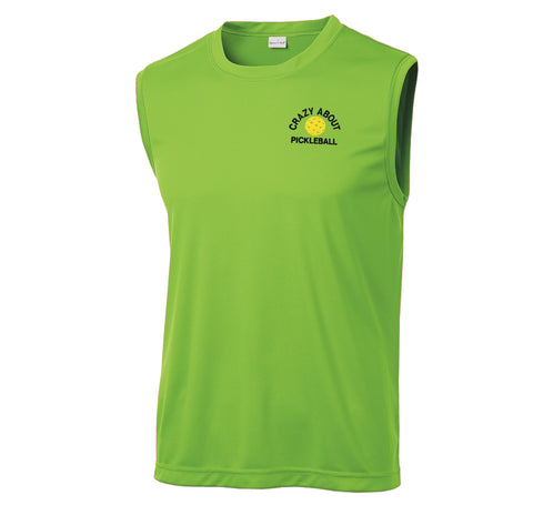 Men's Lime Shock Sport-Tek® Sleeveless PosiCharge® Competitor™  Tee.