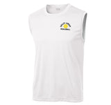 Men's White Sport-Tek® Sleeveless PosiCharge® Competitor™  Tee.