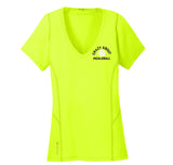 OGIO® ENDURANCE Ladies Nexus V-Neck Yellow