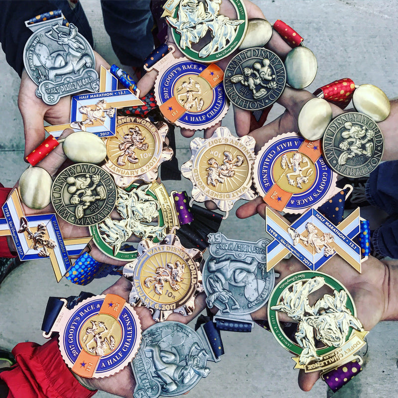 Official RunDisney Medals