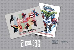 2015/2016 Avengers Super Hero Half Marathon Print (Limited Offer)
