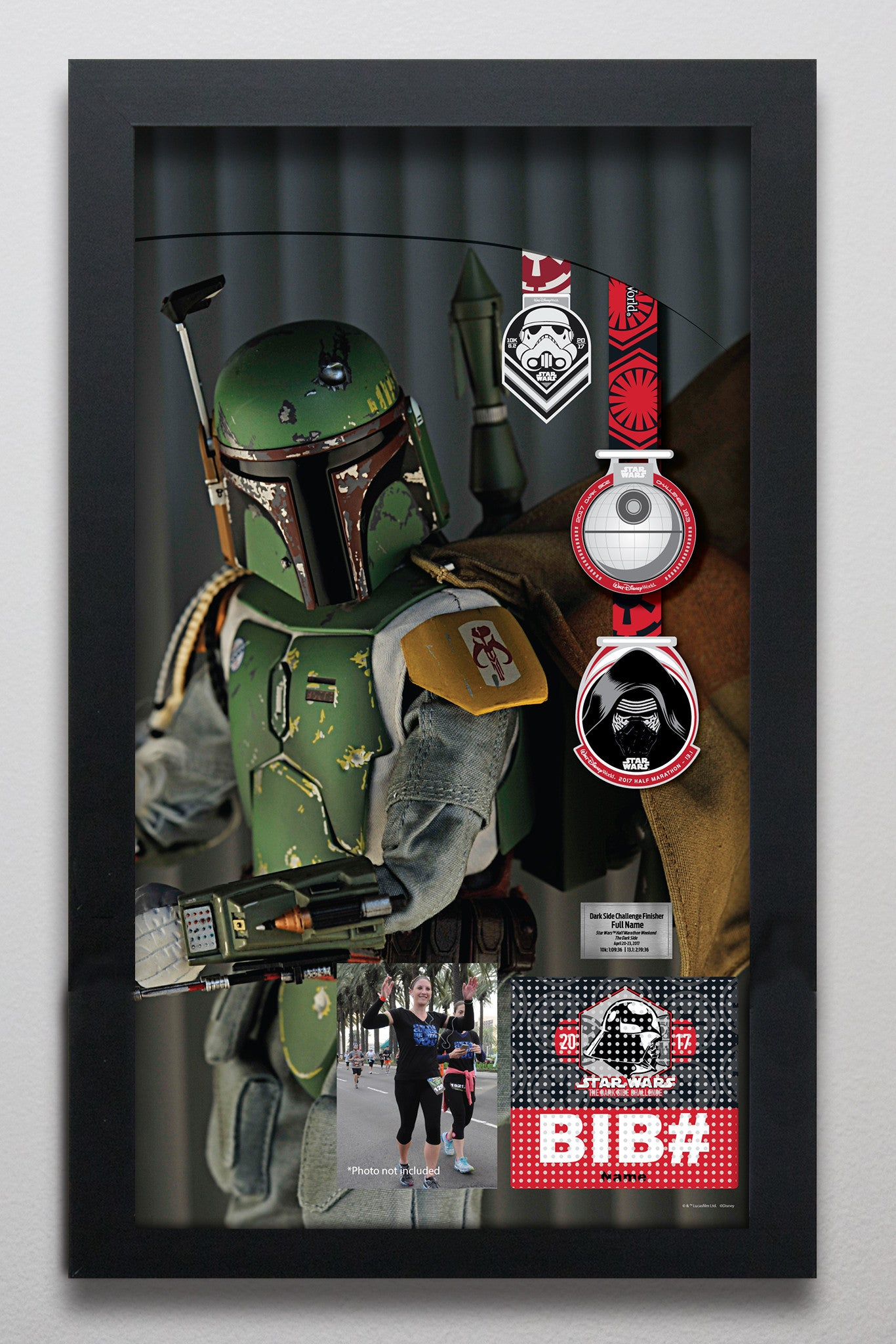 Star Wars™ Dark Side Challenge: Boba Fett (side view) LC200