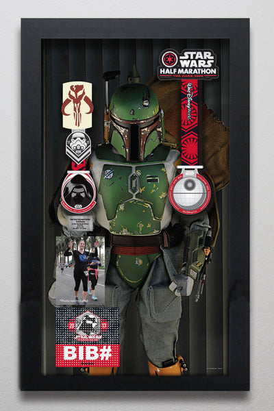Star Wars™ Dark Side Challenge: Boba Fett (front view) LC200