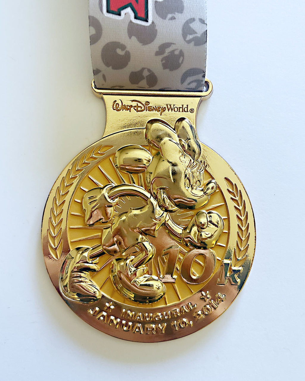 2014 Walt Disney World 10k Medal
