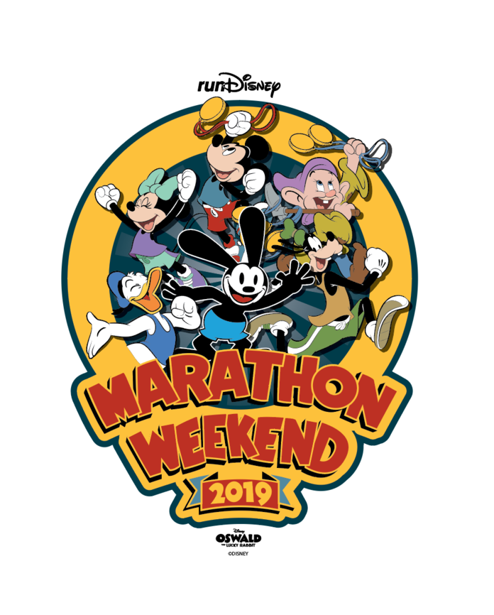 2019 Disney Marathon Weekend Print