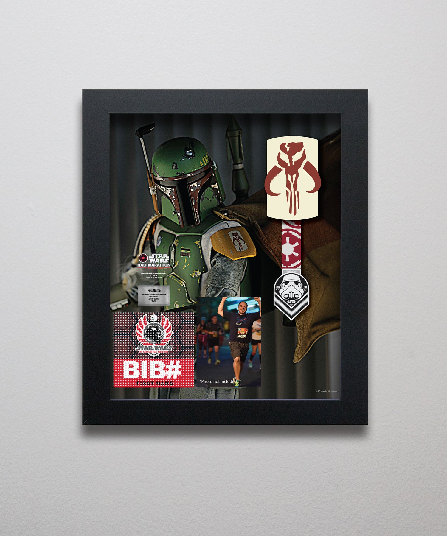 Star Wars™ The Dark Side Boba Fett 10k LC300
