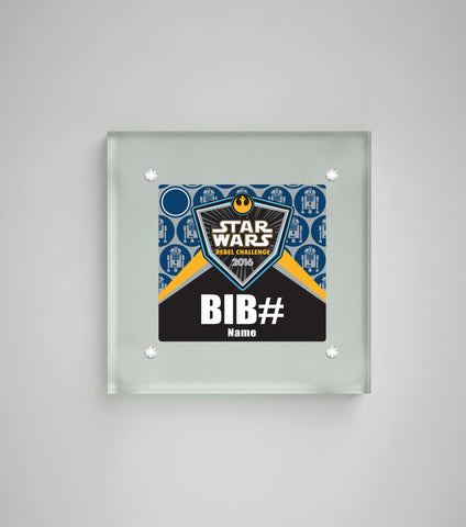 Acrylic Art Bib Display Star Wars™ The Light Side