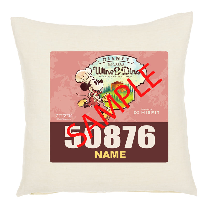 Wine & Dine Weekend Personalized Bib Pillow