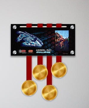 Acrylic Art: 2018 Star Wars Kessel Run Medal Display