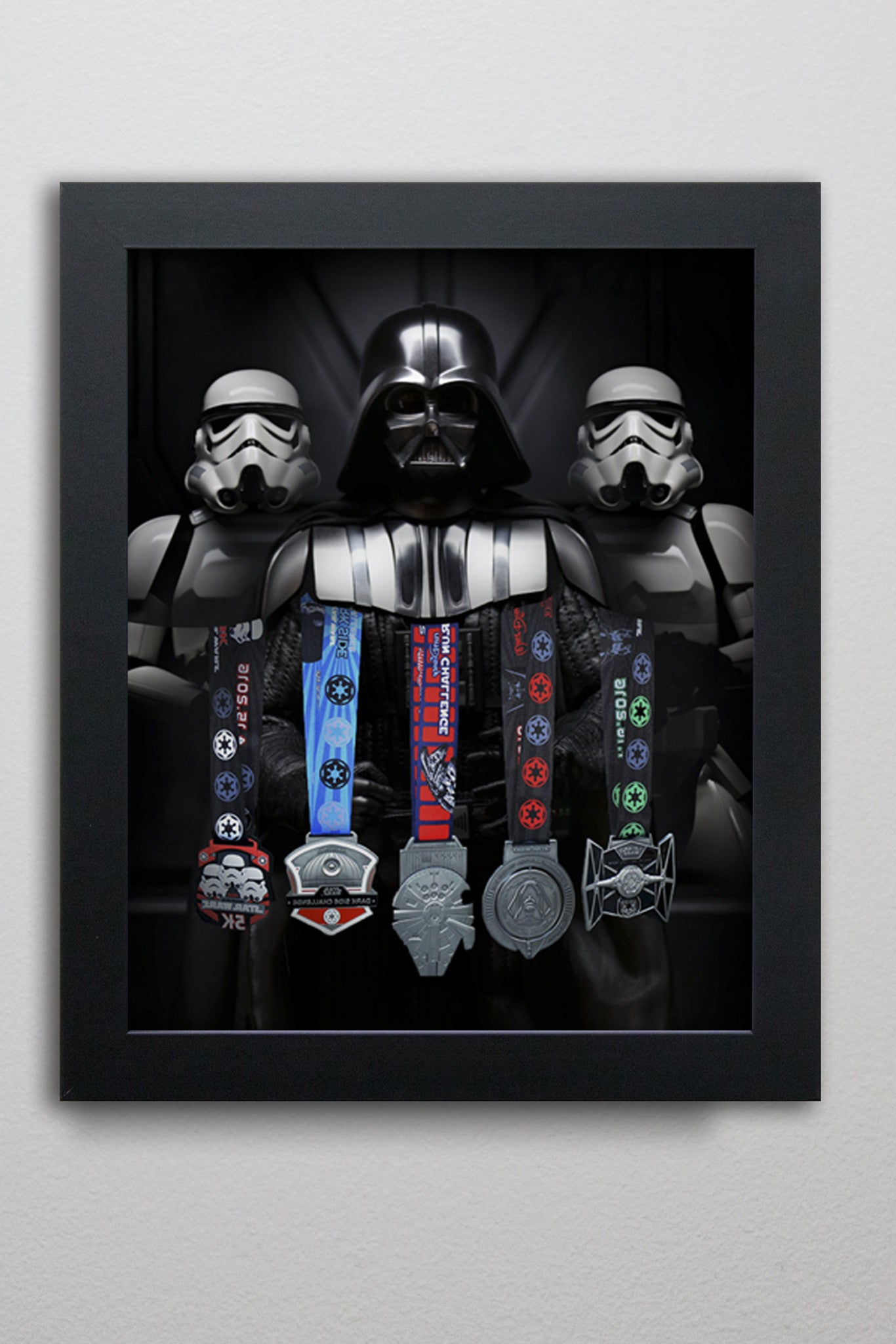 Darth Vader Medal Display LC300
