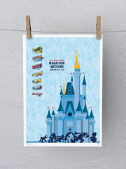 2017 Disney Marathon Weekend Print (Limited Edition)