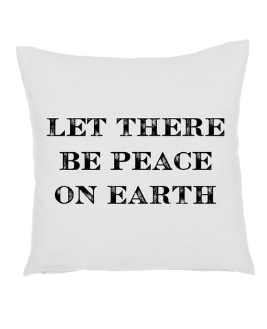 Peace on Earth Pillow