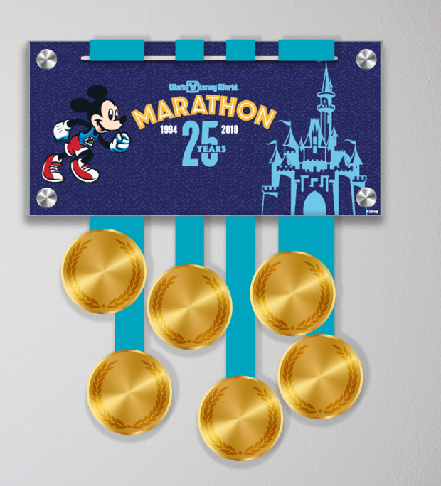 Walt Disney World® Marathon Weekend Mickey 25th Anniversary Display