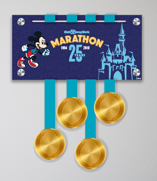 Walt Disney World® Marathon Weekend Mickey 25th Anniversary (Mini Display)