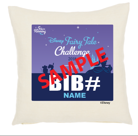 Princess Half Marathon Weekend Pillow