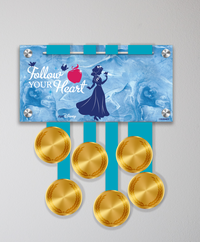 Acrylic Art: Princess Half Marathon Weekend Medal Display - Snow White
